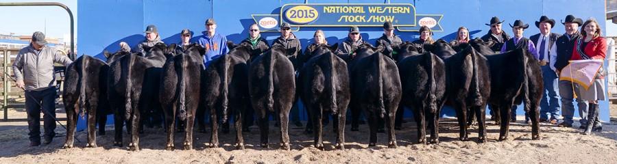 2015 NWSS Reserve Champion Carload